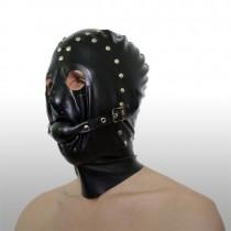black-studded-5-panel-rubber-hood-with-detachable-gag-bfi1